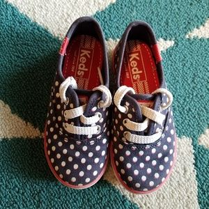 Red, White & Blue Girls Keds Size 7